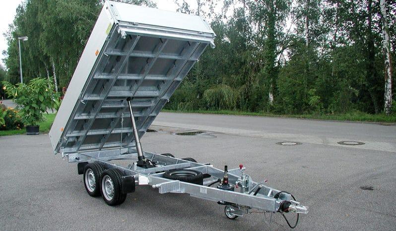 RUKU - Dreiseitenkipper ausgefahren