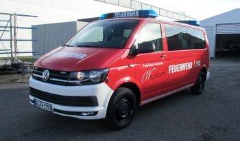 RUKU Feuerwehr Mannschaftstransportwagen vorne