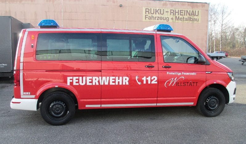 RUKU Feuerwehr Mannschaftstransportwagen ≤ 3200 kg voll