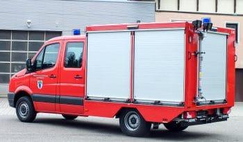 RUKU Feuerwehr Tragkraftspritzenwagen geschlossen