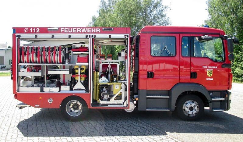 RUKU Feuerwehr Tragkraftspritzenfahrzeug Wasser offen