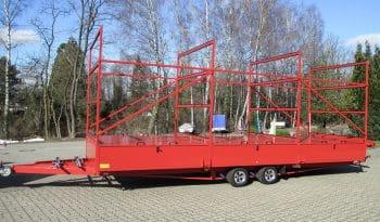 RUKU - Kanu Transportanhänger rot Seite