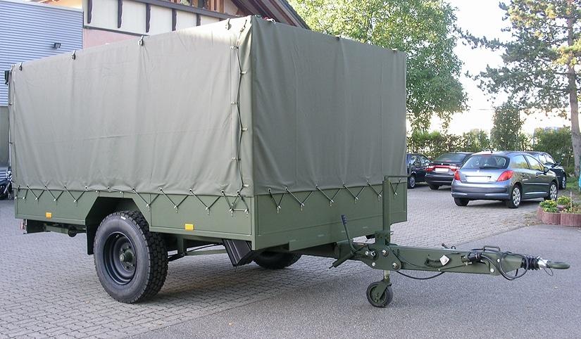 RUKU - Militäranhänger vorne