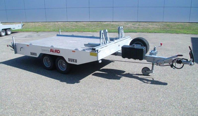 RUKU – Mini Autotransporter mit Motorradhalter Seite rechts