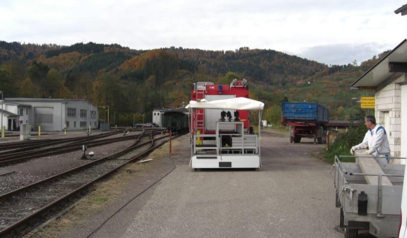 RUKU Feuerwehr-Anhänger voll