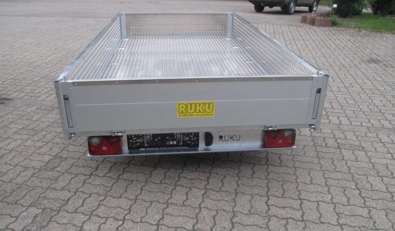 RUKU Hochlader Kasten-Anhänger extra Verstärkt. voll
