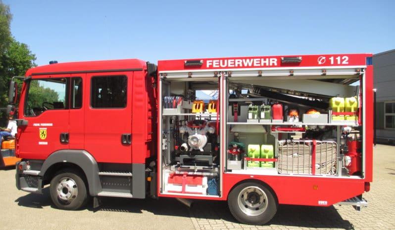 RUKU Feuerwehr Tragkraftspritzenfahrzeug Wasser ≤ 7500 kg voll