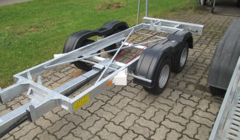 RUKU Maschinentransport Fahrgestell voll