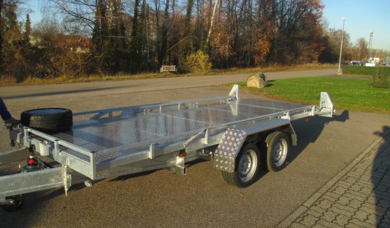 RUKU Maschinentransport Plattform kippbar voll