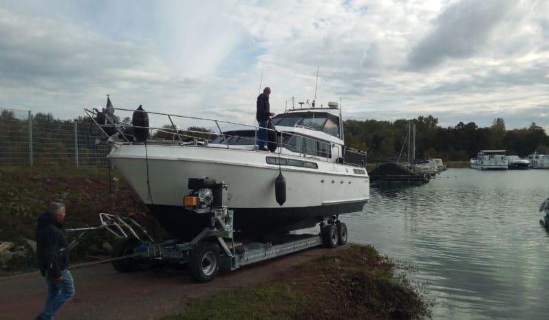 RUKU Hafentrailer Bootsanhänger voll